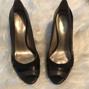 Antonio Melani Brown heel shoes